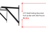 Ceiling Mounted Pull Up Bar with 300pound Capacity Review