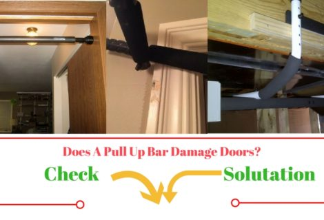 Do Pull up bar damage to your wall and how to protect against it