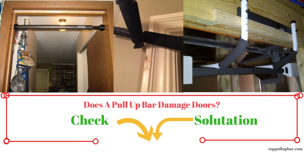 Pull Up Bar Door Frame Damage Amp How To Protect Against It