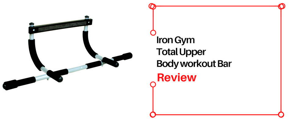 Iron gym pull up bar