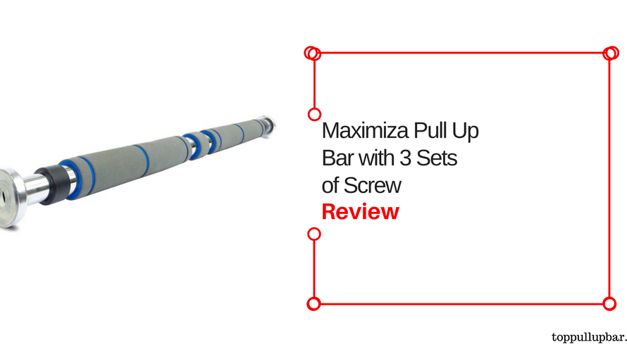 Maximize Pull Up Bar – Doorway Pull Up with 3 Sets of Screw