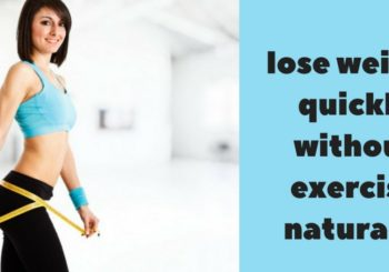 how to lose weight quickly without exercise naturally | Work who didn't like Exercise